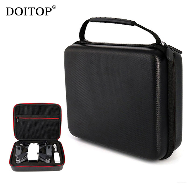 DOITOP Mini Storage Box Case Handbag For DJI Spark Drone Accessory Portable Carry