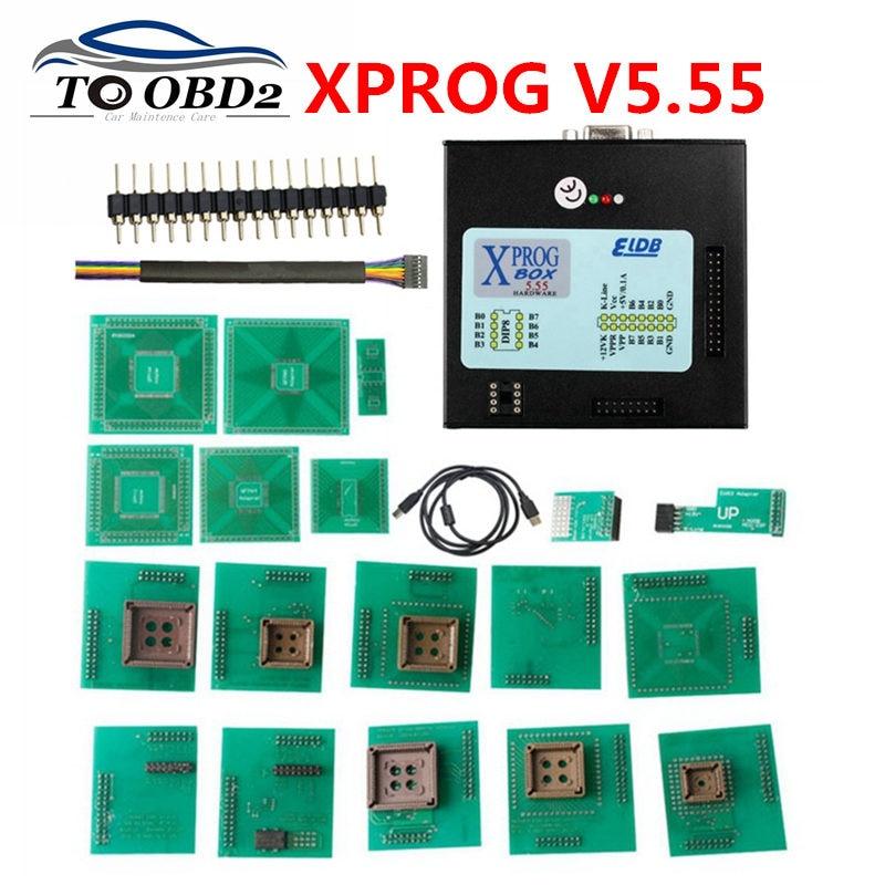 XPROG M V5 55 ECU chip tuning Programmer Car ECU Programmer XPROG M Auto ECU Rewrite