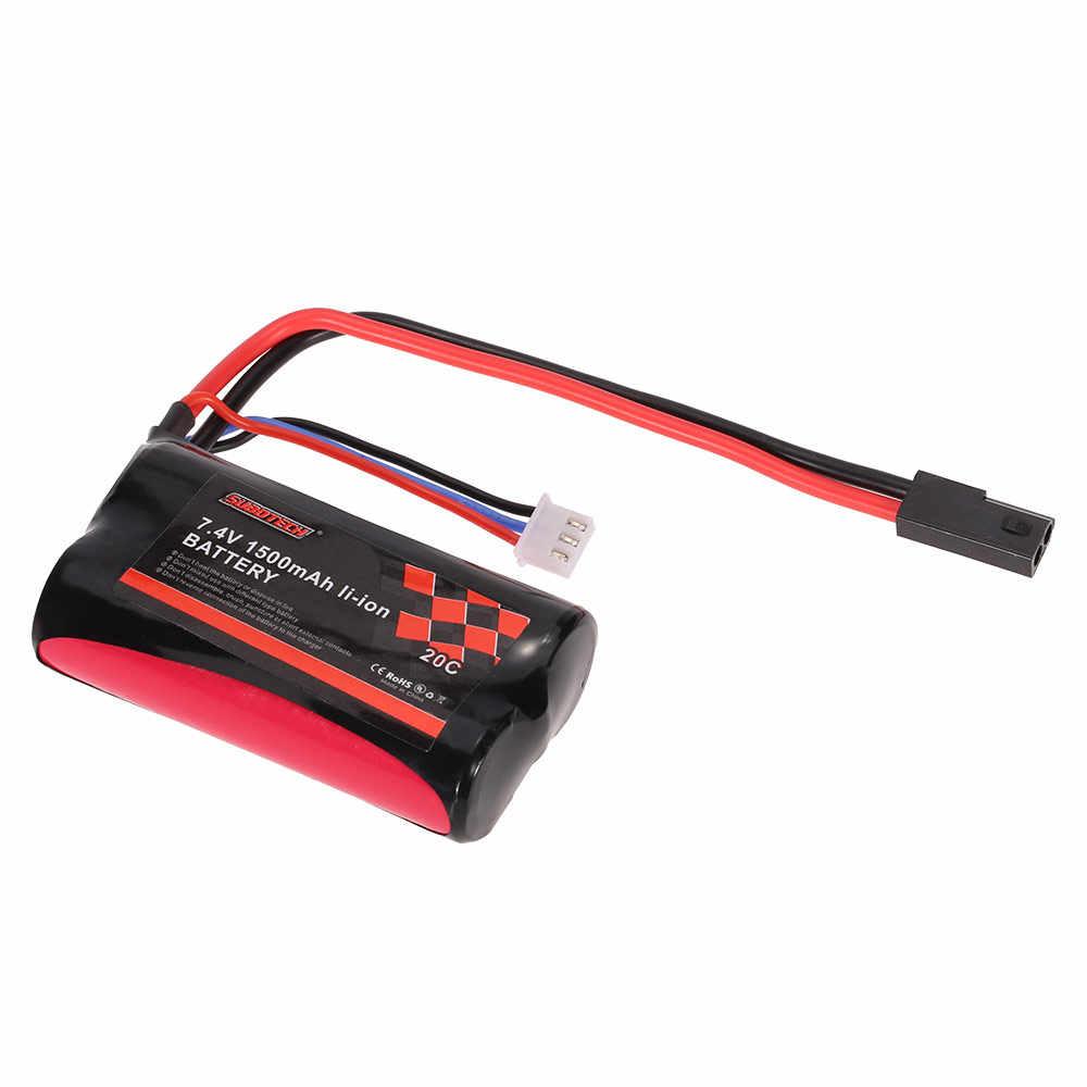 Оригинальный 7,4 В 1500 мАч 20C литий-ионный аккумулятор для SUBOTECH BG1506 BG1507 BG1513 RC автомобиль