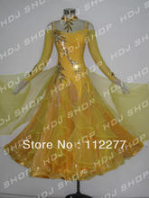 ballroom dancing competition dress for lady HM8691