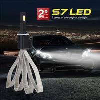 Tiptop 880 881 H1 H3 H7 H11 Car LED Headlight Light Bulb Kit Set Conversion White