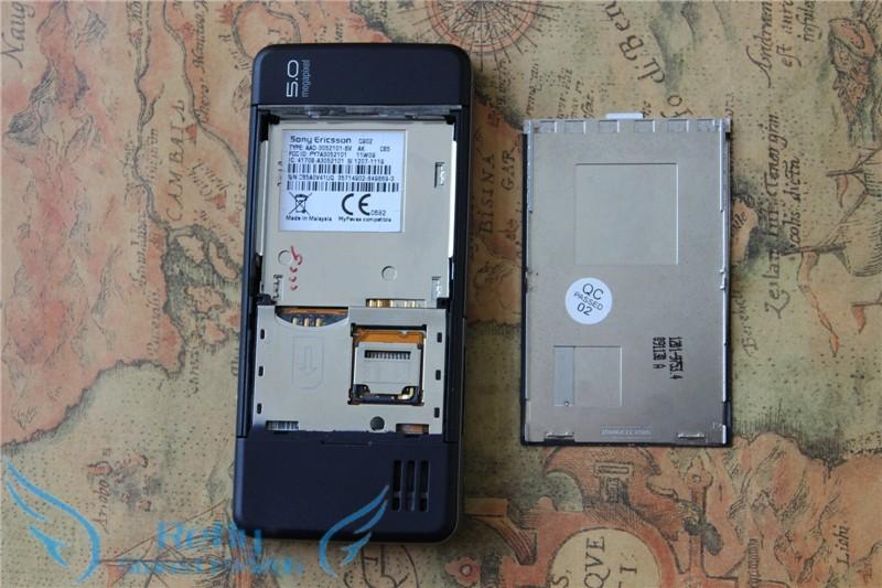 Refurbished phone Sony Ericsson C902 3G 5MP Bluetooh MP3 MP4 Player black 5