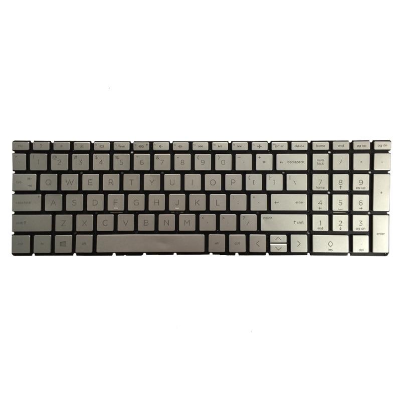 New US black or silver keyboard for HP 15-da0012dx//15-da0014dx