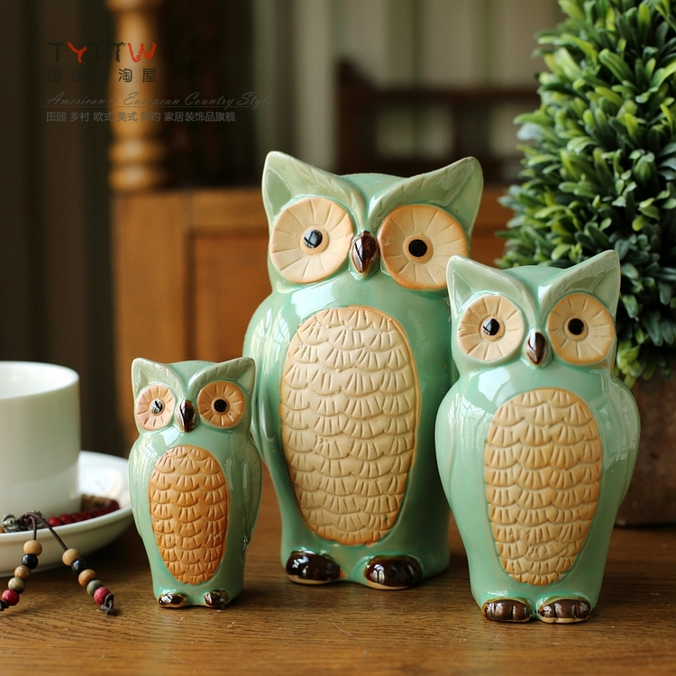 compare prices on ceramic owl home decor- online shopping/buy low