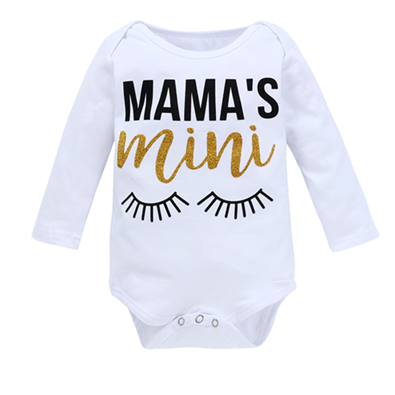 3Pcs Baby Girl Tops Bodysuits Sequins Shorts Headband Clothing Set Cotton Long Sleeve Single Breasted Newborns Clothes CL5202