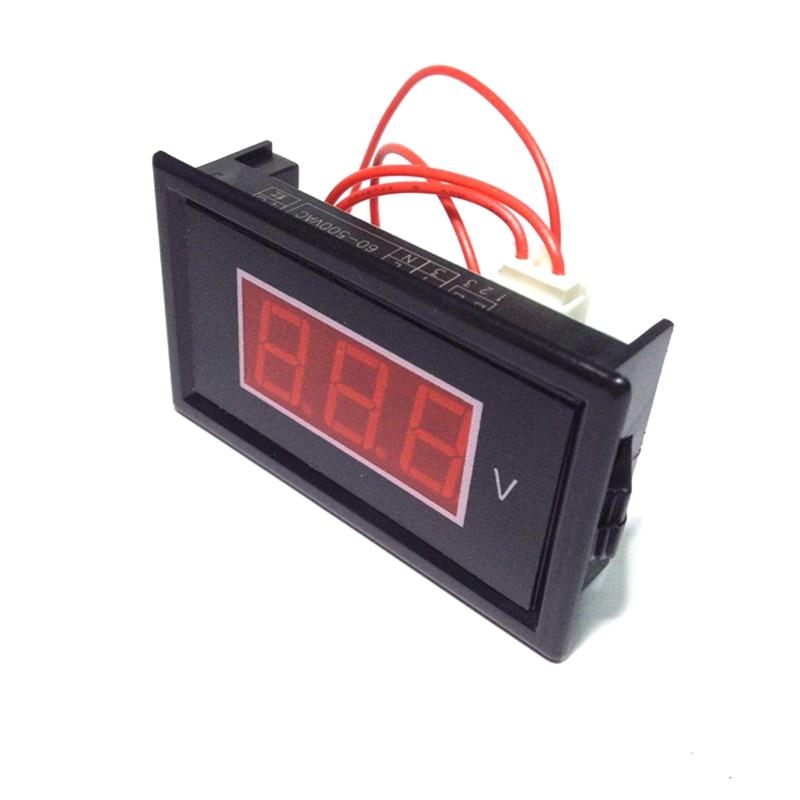 Digitális váltóáramú, 60 V-500 V-os feszültségmérő - Mérőműszerek - Fénykép 3