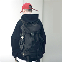 Street Style Men Backpack Anti Theft 15.6 Inch Laptop Backpack Large Capacity Travel BackPack Male Mochilas Casual Men Schoolbag|Backpacks| |  -