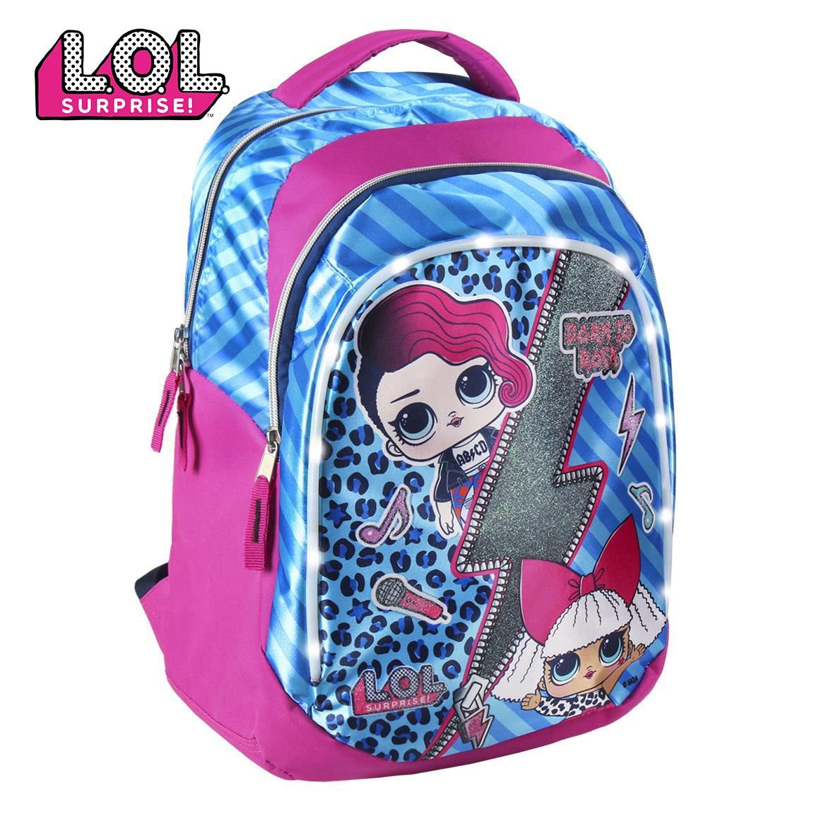 Backpack Casual Luces Lol