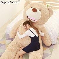 Soft PP Cotton Stuffed Big Teddy Bear Plush Toy Big Animals Bears Cushions For Valentine's Day Gift Teddy Bear Sleeping Pillows