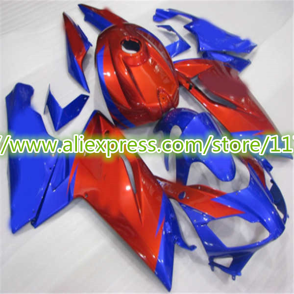 Injection mold Fairing kit for Aprilia RS125 07 08 09 10 11 RS 125 2007 2008 2009 2011 ABS Blue Red Fairings set-Hey
