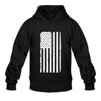 DUTRODU USA American Flag Men Print Custom Hoodies And Sweatshirts 100 Soft Cotton Quality Print Techniques