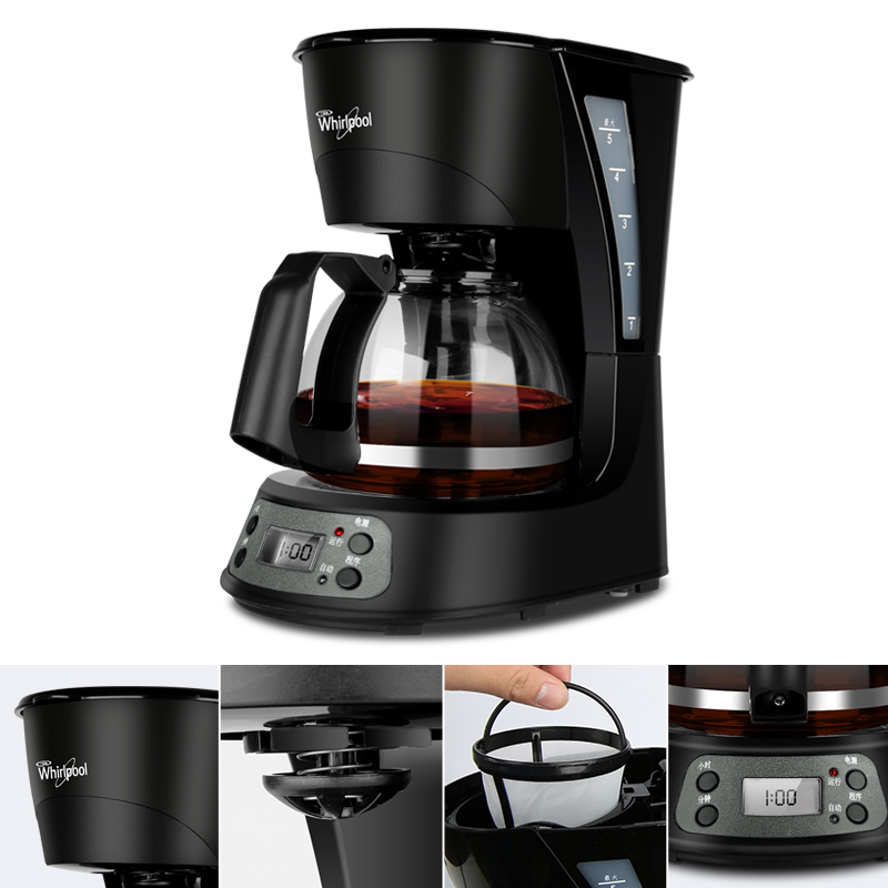 Caffè Americano Macchina Da Caffè Automatica 24 h Prenotazione Macchine per il Caffè Da Caffè A Goccia Famiglia & Strumento di tè Mini Portatile macchina per il Caffè