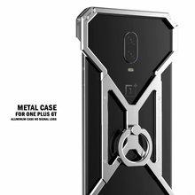 Алюминиевый металлический чехол для Oneplus 6T 6 5 5T металлический бампер Броня противоударный чехол для телефона для One Plus 6T 5 5t 6 Чехол 1+ 6T бухта