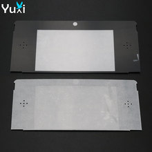 YuXi 10pcs/lot Replacement plastic Top Front LCD Screen Frame Lens Cover For Nintendo For 3DS стоимость