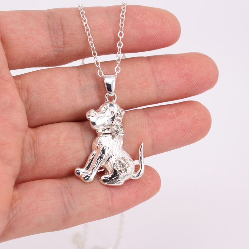 hzew three breeds dogs pendant necklace animal necklace