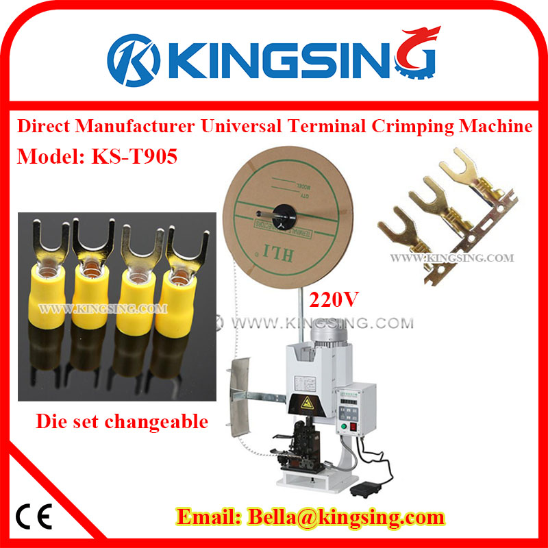 Cool Factory Wholesale Electrical Wire Crimp Making Machine Ks T905 24 Wiring 101 Swasaxxcnl
