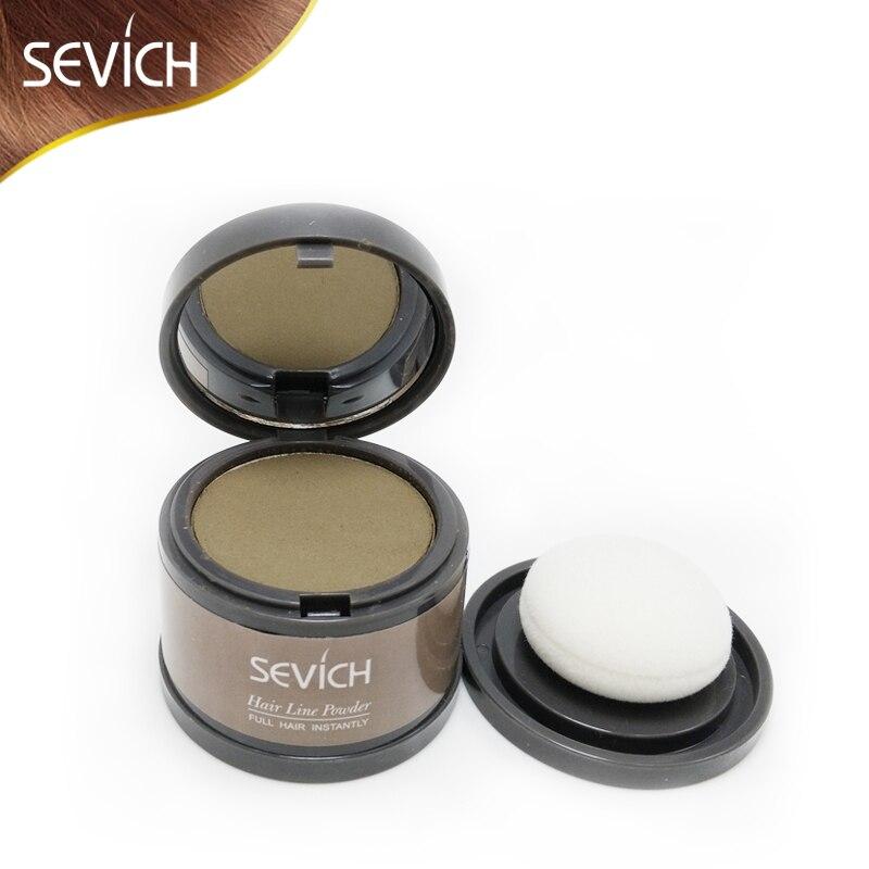 Sevich Hair Building Fibers Baby Hairline Modified Repair Hair Shadow Trimming Powder Make