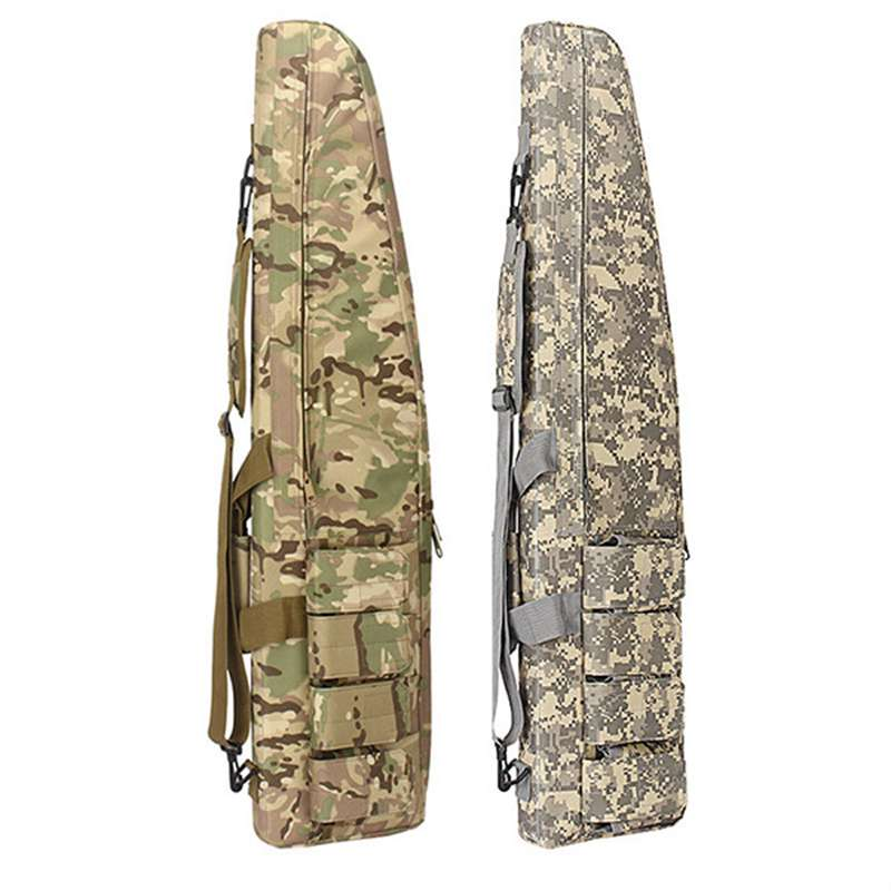 Image 2 - Multifunction Tactical 118CM Gun Bag Heavy Gun slip Bevel Carry Rifle Case Hunting Rifle Gun Shoulder Bag With Protection Cotton-in Holsters from Sports & Entertainment