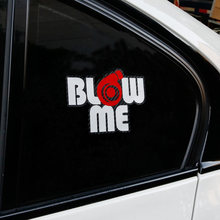 Blow Me Vinil Reflexivo Decalque Etiqueta do carro Turbo Boost Auto Tuning Car Styling Acessórios(China)