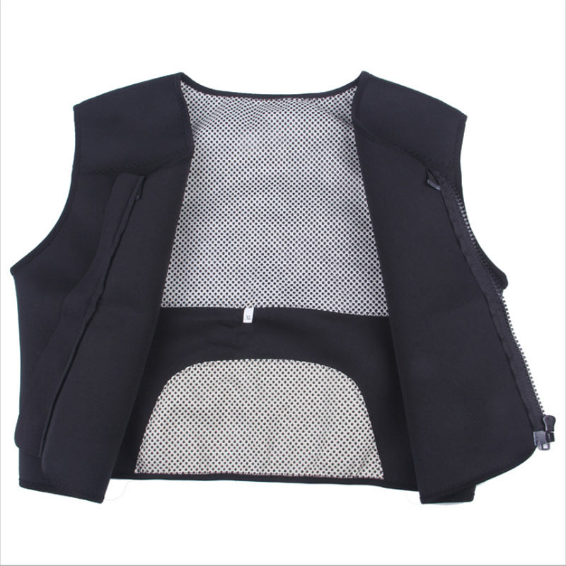 Tourmaline Self Heating Vest Waistcoat Vest Thermal Magnetic Therapy Waist Support Back Support Shoulder Pad Vest Free Shipping