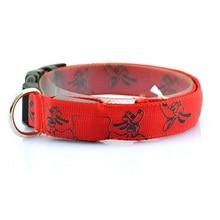 Amazing adjustable luminous Pluto-themed dog collar