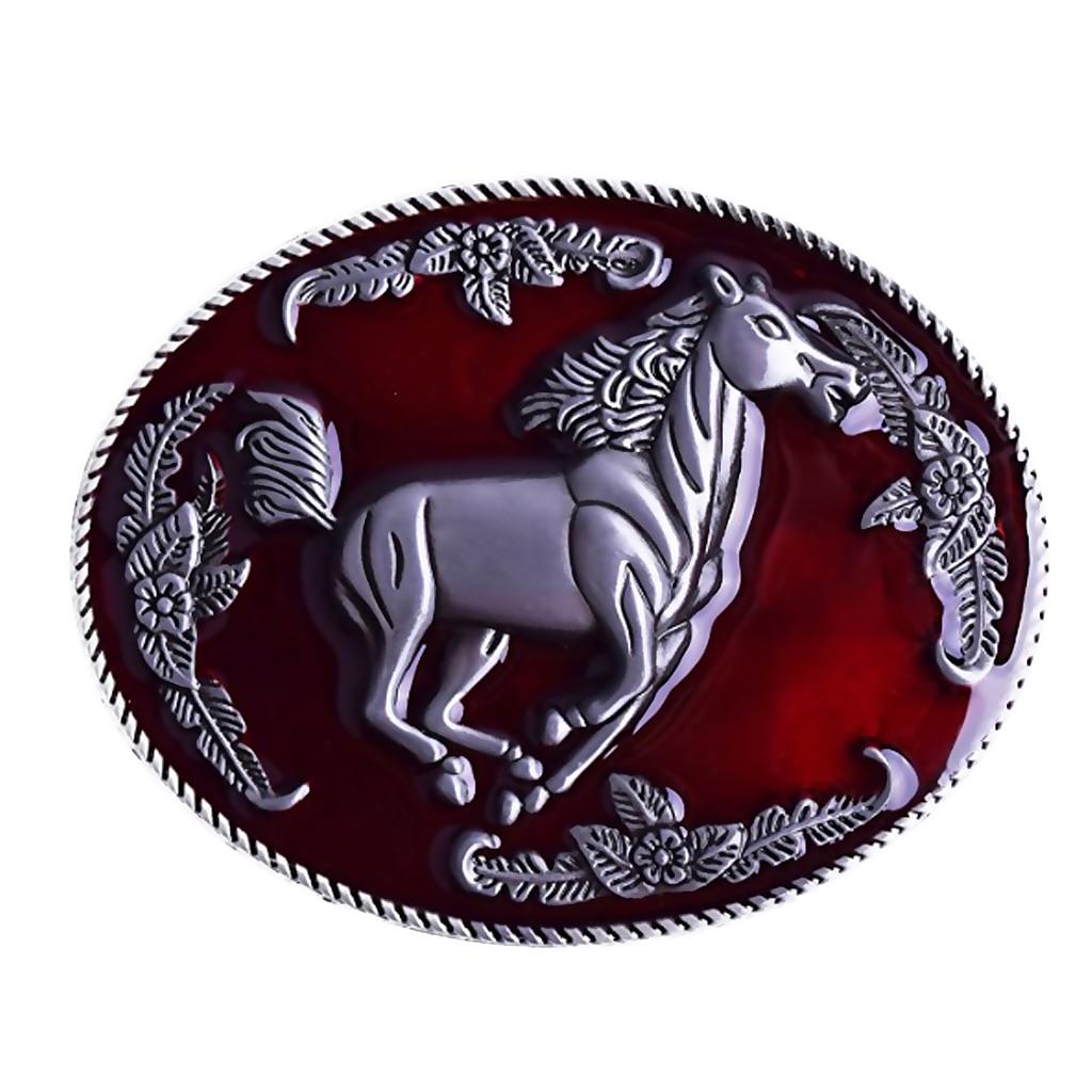 Zinc Alloy Belt Buckle For Men High Quality Alloy Material Gold Silver Horse Adaptation Width 3.5CM Designers Fashion Design