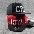 2017 cristiano ronaldo cr7 crianças cap boné de beisebol esporte hip hop snapback hat unisex brim liso chapéus das crianças ajustáveis chapéus