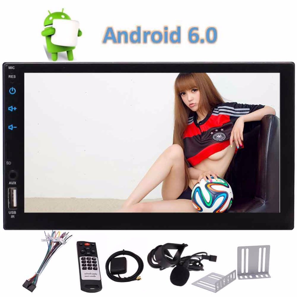 Eincar Auto Radio Android 6.0 Car Radio Stereo 2Din no DVD Player Touch Screen Autoradio GPS Navigation Bluetooth FM/AM/RDS Wifi android 6 0 7 double 2din head unit touch screen car radio stereo no dvd gps obd 3g 4g wifi car stereo autoradio gps navigation
