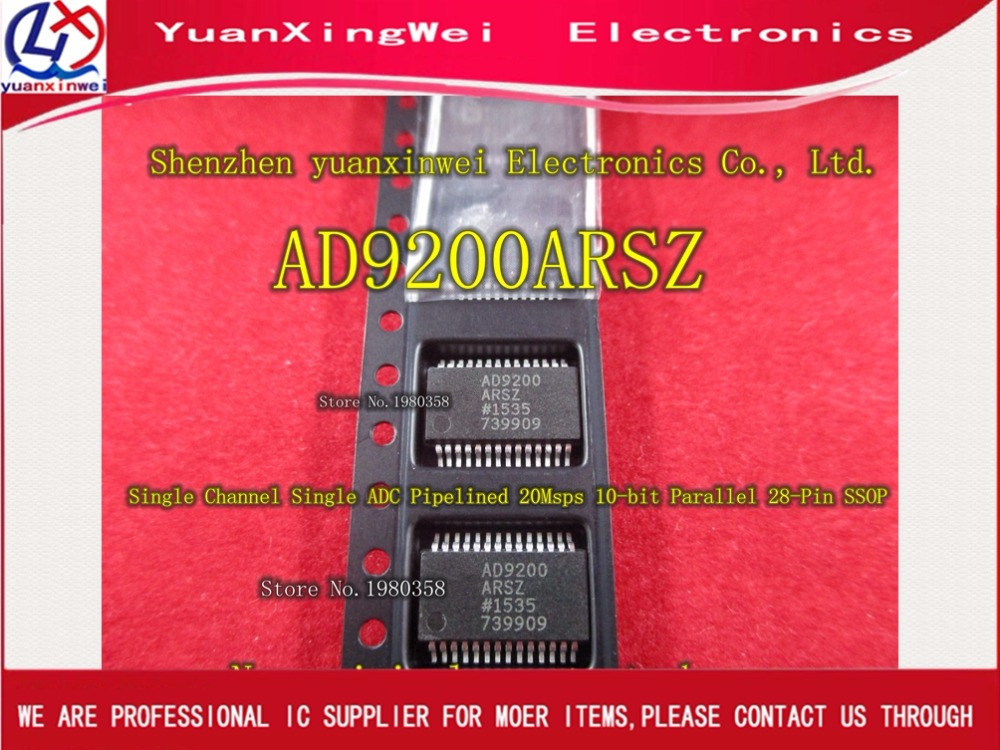 Free shipping 5pcs IC AD9200ARS AD9200 Original authentic and new Free Shipping IC new japanese original authentic vfr3140 5ezc
