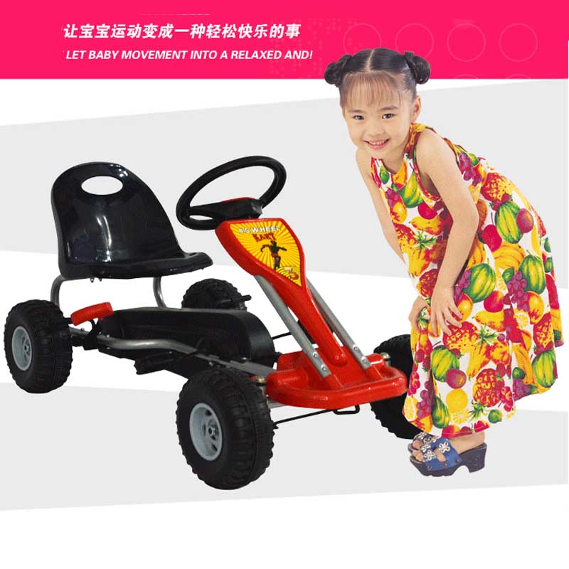 kids ride on toys ride on cars for childrens education motion exercise pedal sports kart mechanical car steering wheel control