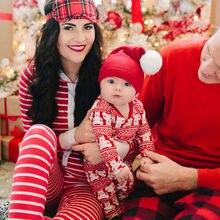 Newborn Baby Boys Girls Christmas Nightwear Xmas Pj's Home Set