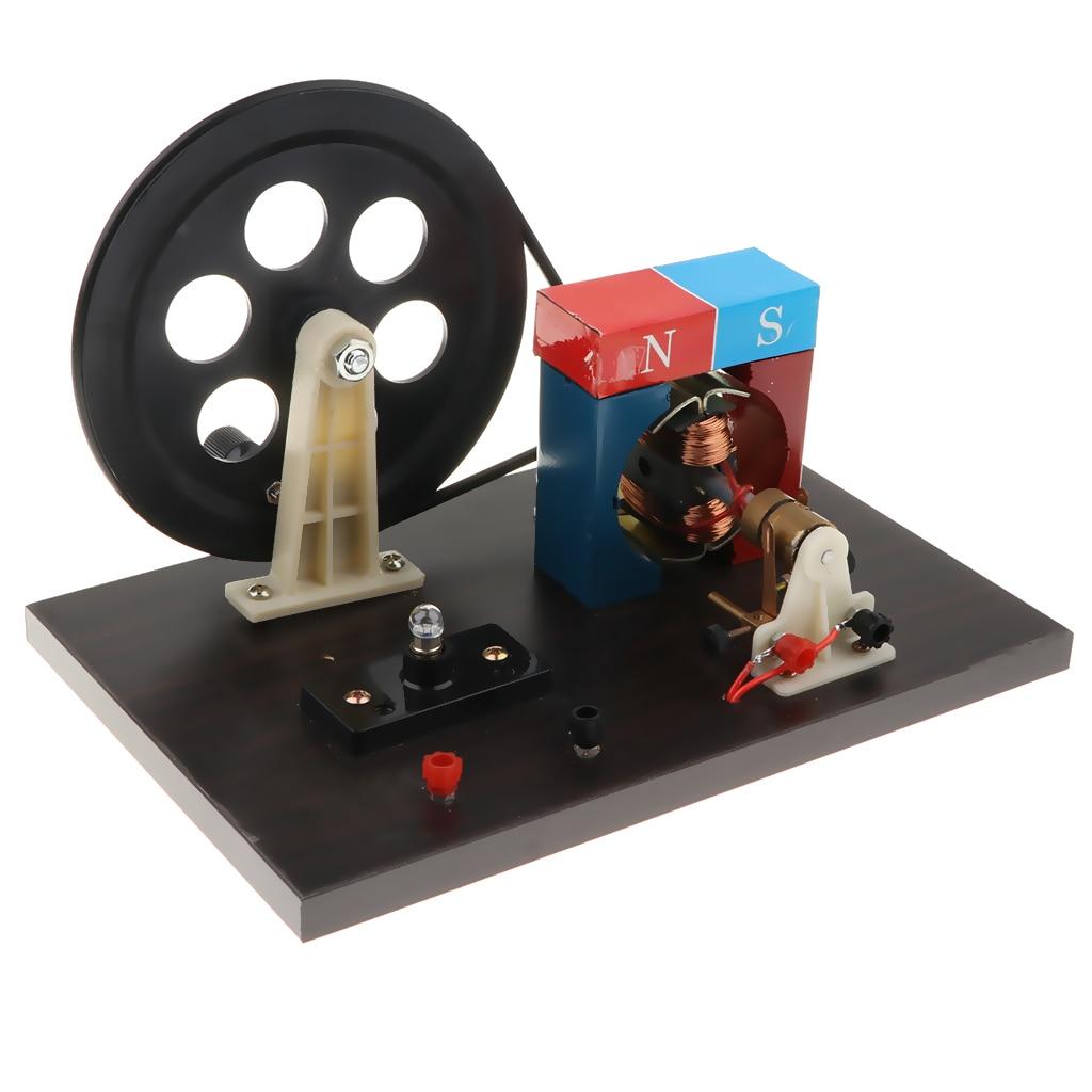 Kit de modèle de générateur à Double courant DC/AC à manivelle