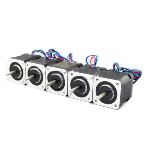 HOT-Nave 5 pz 17 Motore Passo-passo Bipolare 84oz. in (59Ncm)-lead Stampante 3D