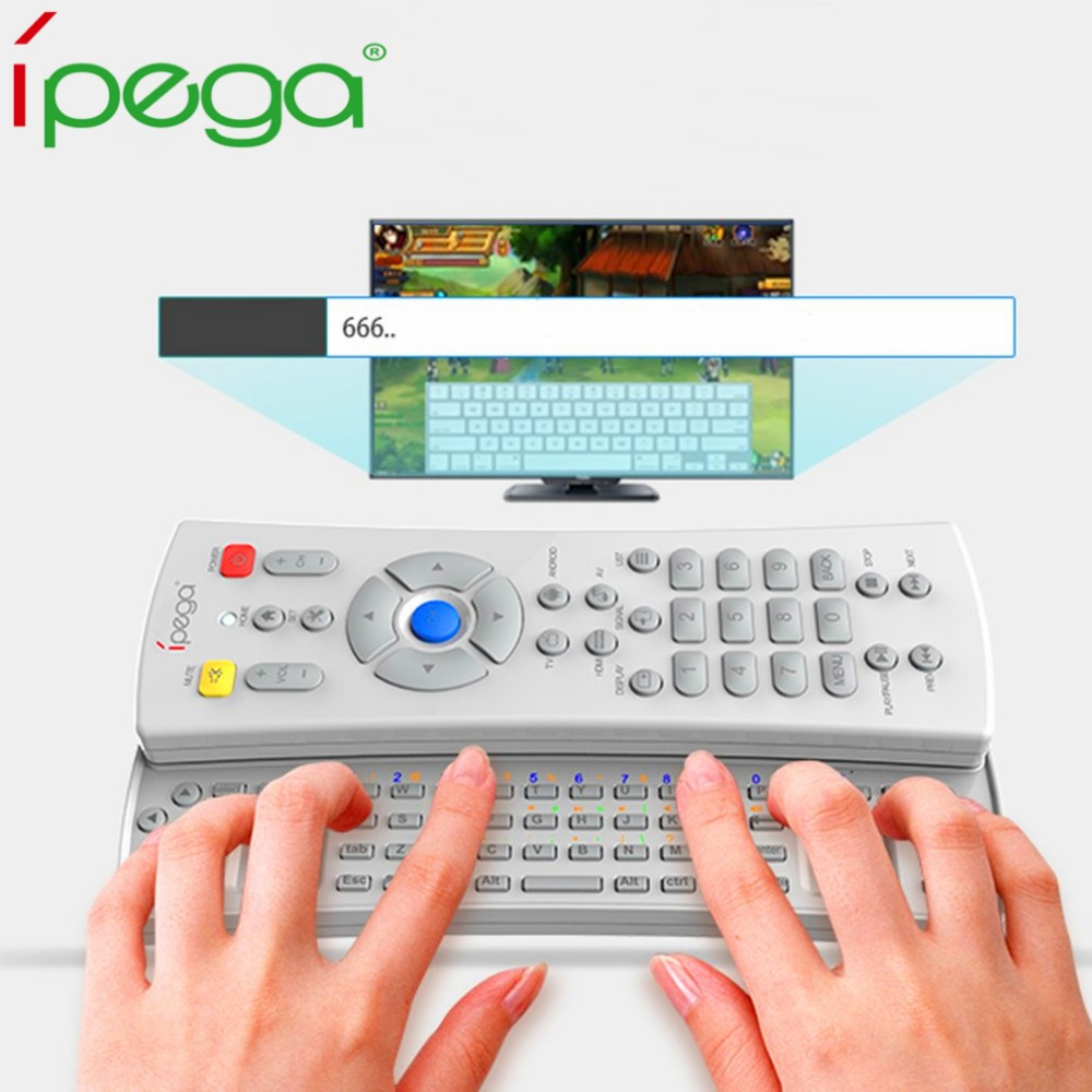 Ipega Multi-function Remote Controller Wireless Bluetooth Gaming keyboard Game Pad For Android Tablet PC Set Top Box Smart TV