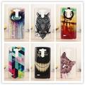 Hot Pintura Hard Case Voltar Para LG G3 G3S Mini G3 Batida D722 D725 D728 D724 Tampa Da Forma Do Telefone Móvel casos