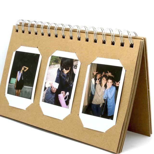 Album for Fujifilm Instax Mini 8 8+ 9 70 7s 25 26 50s 90 Film, Pringo P231, Instax Share SP-1 SP-2, Polaroid PIC-300 Z2300 Film