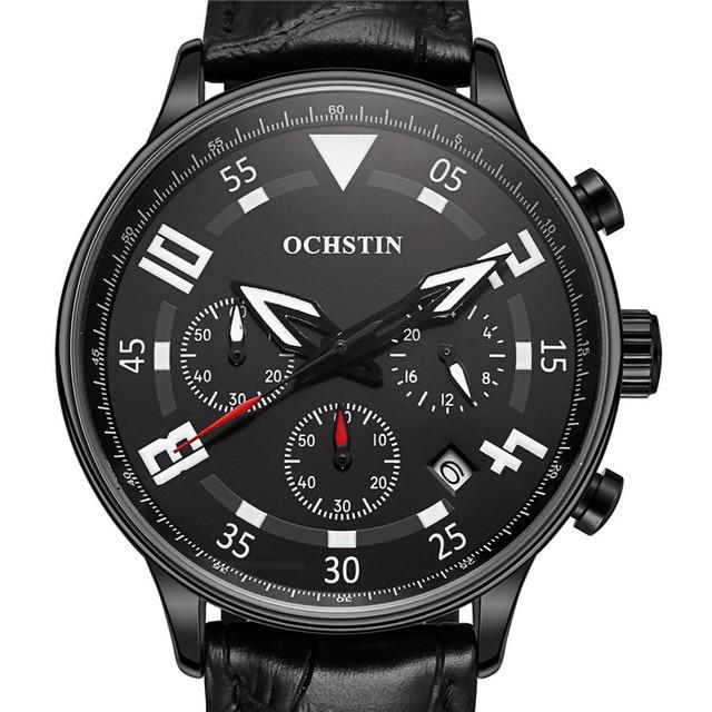 OCHSTIN Quartz Watches Men Luxury Top Brand Men's Wrist Watches Waterproof Hodinky Sports Watch Male Clock Men