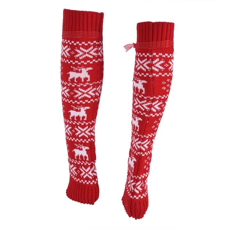Aliexpress.com: Comprar 1 Pares de Navidad Alces Patrones Medio ...