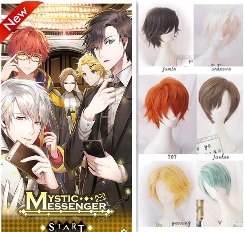 Misski Game Mystic Messenger Cosplay Wig Han Jumin /ZEN ...