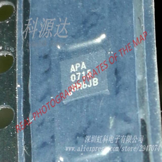 APA0715  APA0715QBI-TRG    3W Mono Fully Differential Audio Power Amplifier  original   in stock sold by piece