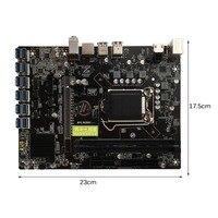 H81 BTC V1 01 Mining Board Mining Motherboard TB250 BTC CPU LGA 1150 DDR3 1066 1333