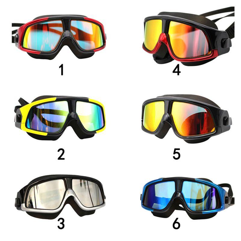Comfortable Silicone Large font b Frame b font Swim font b Glasses b font Swimming Goggles