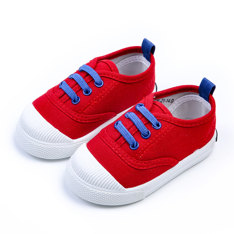 2019 New Fashion Children Canvas Shoes Boys Girls Baby Kids Soft Sole Shoes