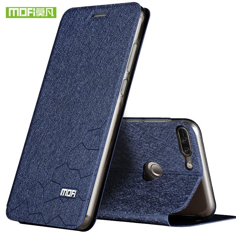 Para Huawei honor 9 Lite caso cubierta de silicona Huawei honor 9 Lite caso de lujo Flip Cartera de cuero 9 Lite transparente TPU coques 5.65