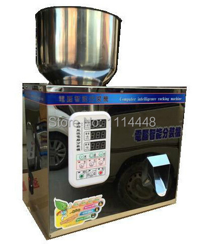 Tea Packing Machine Tablet Weighing Machine Granule Packing Machine 2-50g  stainless steel granule weighing filling machine with feeder