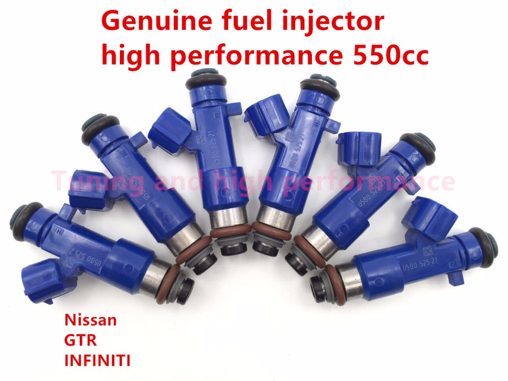 Genuine E85 fuel injector 14002-AN001 high performance 550CC fuel injector for Nissan GTR INFINITI G37 16600-JF00A