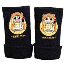 New Fashion Winter Warm Cotton Glove Half Finger Anime Himouto Umaru chan Printing  Mitten Gloves Unisex Cosplay Gift