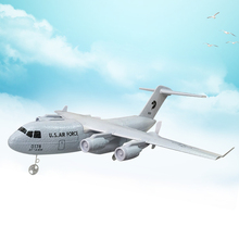 RC Plane Transport 373mm Wingspan EPP DIY RC Airplane 2.4G 3-Axls Gyro RTF Model Aircraft With Built-in Battery Toys for Kids