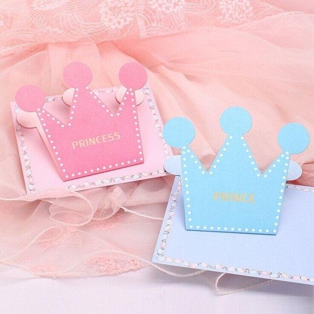 Aliexpress Buy 1 Sets Prince And Princess Crown Shape Folded