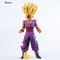 25cm Anime Dragon Ball Z Super Saiyan Son Gohan Action Figures Master Stars Piece Dragonball Figurine